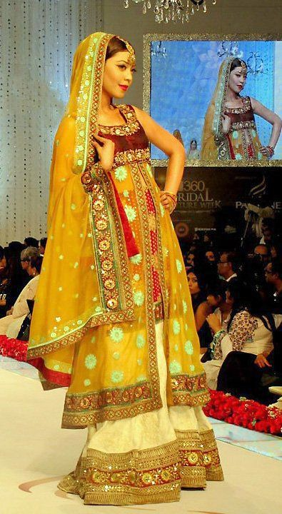This is the image gallery of Pakistani Bridal Walima Dresses Collection 2014. You are currently viewing Pakistani Bridal Walima Dresses Collection 2014 (30). All other images from this gallery are given below. Give your comments in comments section about this. Also share stylehoster.com with your friends.    #walimadresses, #bridalwalimadresses, #bridaldresses, #pakistaniwedding