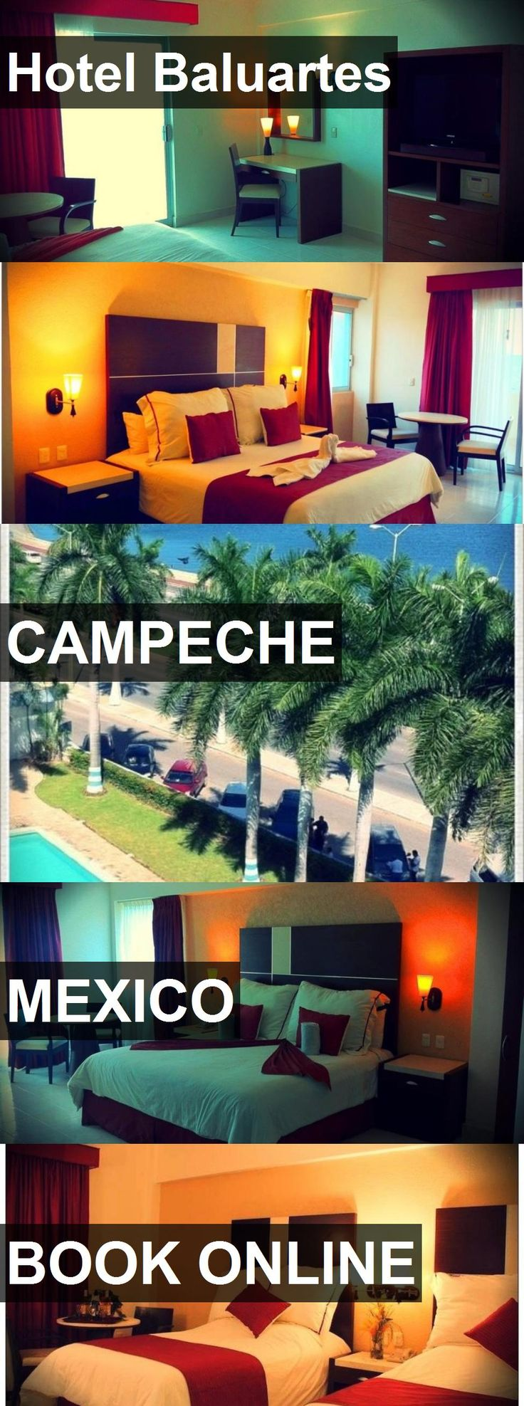 Hotel Hotel Baluartes in Campeche, Mexico. For more information, photos, reviews and best prices please follow the link. #Mexico #Campeche #HotelBaluartes #hotel #travel #vacation