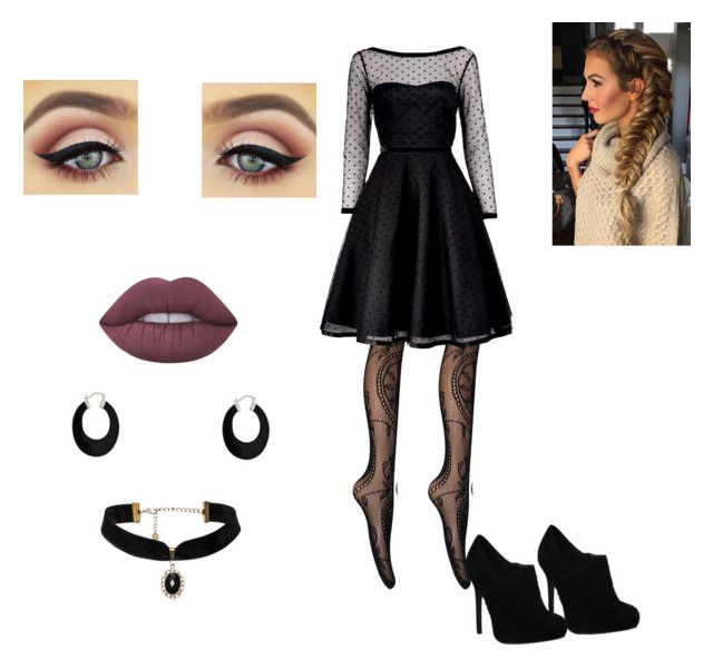 """""""Zara"""" by skylarsong ❤ liked on Polyvore featuring Marc by Marc Jacobs, Lime Crime and Bling Jewelry"""