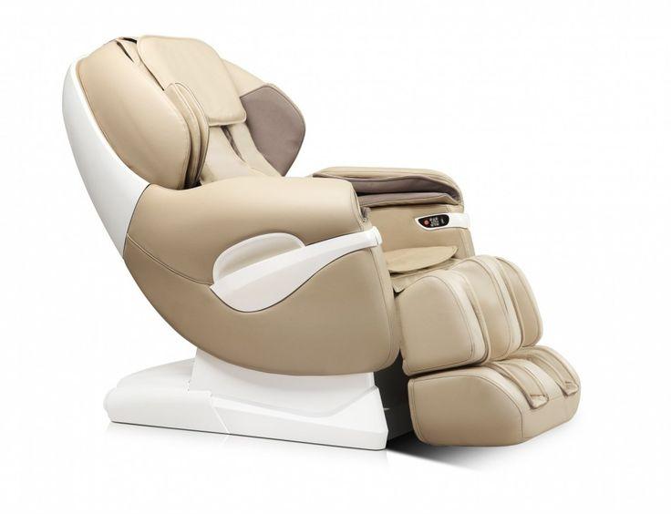 Modern design massagestoel, ideaal als je last hebt van nek, schouder of rugklachten. Deze stoel helpt je je klachten te verminderen.   Lekker Relaxen en ontspannen? Dat kan uiteraard ook in deze stoel.  Kom zelf ervaren in onze showrooms waar meerdere massagestoelen staan.