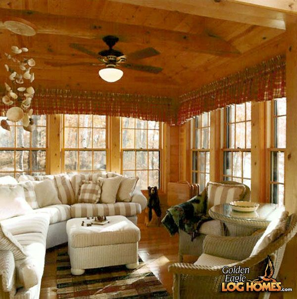 Best 25 4 season room ideas on pinterest sunrooms sun for Log home sunrooms