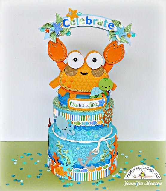 Doodlebug Design Inc Blog: Anchor's Aweigh Collection: Celebrate with Jennifer Beason