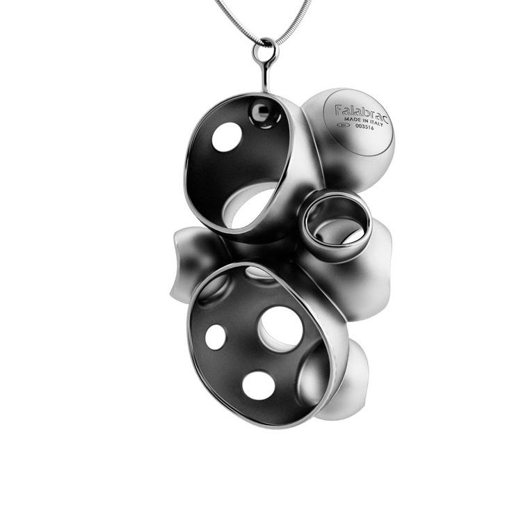 millebolle silver pendant - Falabrac
