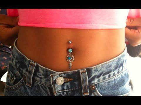 Fake Belly Button Piercing
