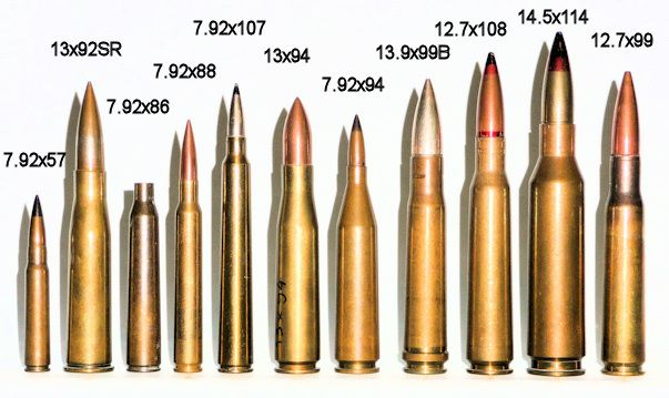 Anti-Tank Rifle Cartridges