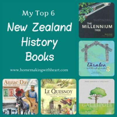 New Zealand History Books for children homemakingwithheart.com
