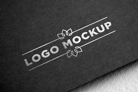 Silver Logo Mockup Logo Mockup Logo Mockups Psd Silver Logo