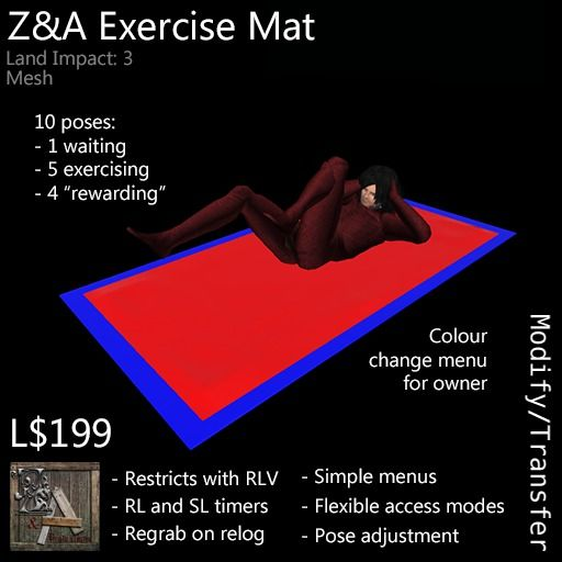 Z&A Exercise Mat