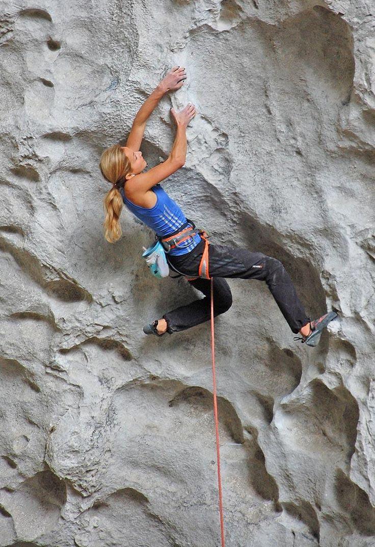 Climbing Getu China