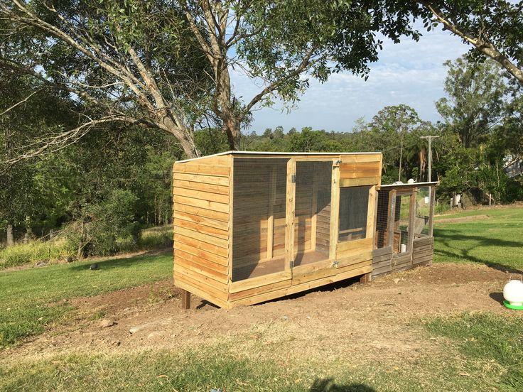Chicken coop- Bears landscape maintenance