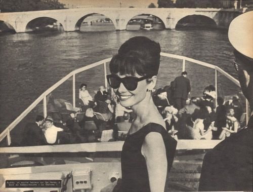 Audrey Hepburn, Paris, 1960s