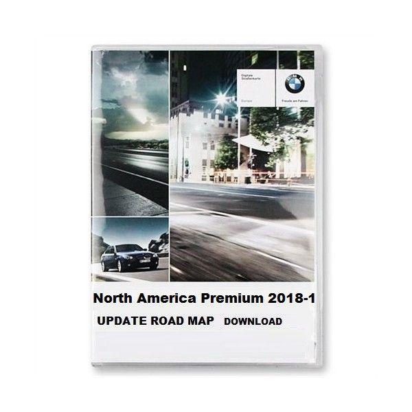 BMW ROAD MAP NORTH AMERICA PREMIUM 2018-1 – GPS Underground