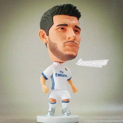 Soccerwe Spain European Soccer Star Lovely Action Figures Toys Fans Collection Football Dolls Gift Cronaldo Benzema James Ramos