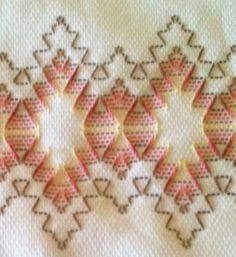 Huck Towel Embroidery (must make towelSwedish Weaving) How-to