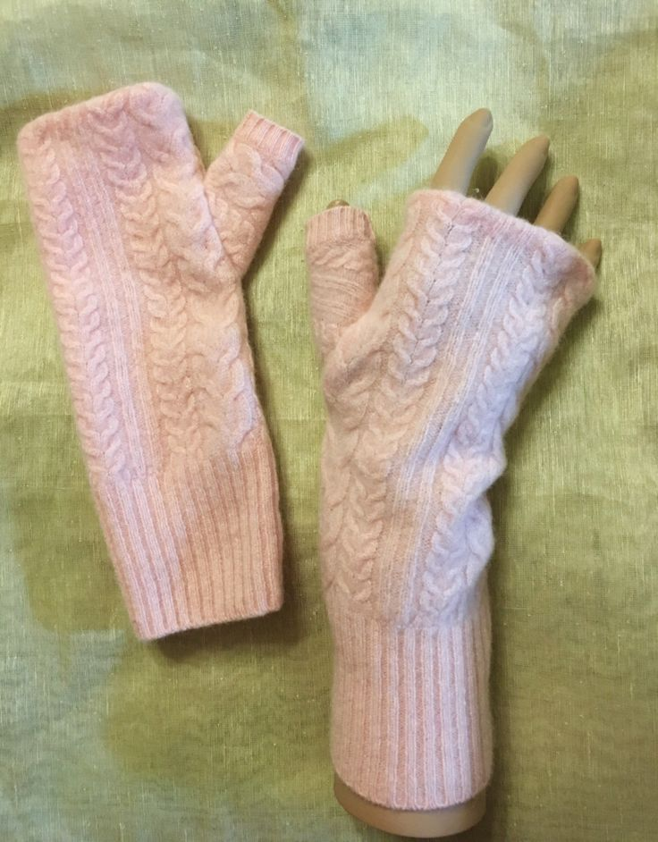 A personal favorite from my Etsy shop https://www.etsy.com/listing/488921098/a36-peach-pink-cashmere-fingerless