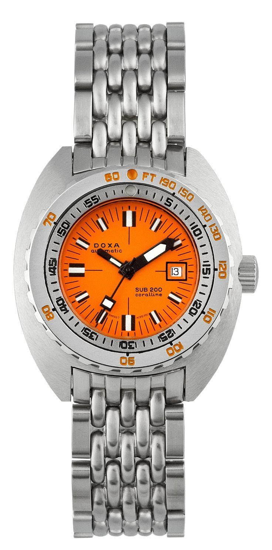 Best Women's Dive Watches – DOXA NOS SUB 200T Coralline