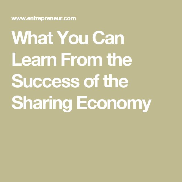 What You Can Learn From the Success of the Sharing Economy  Meet Jettly - The Flight Sharing App (www.Jettly.com)