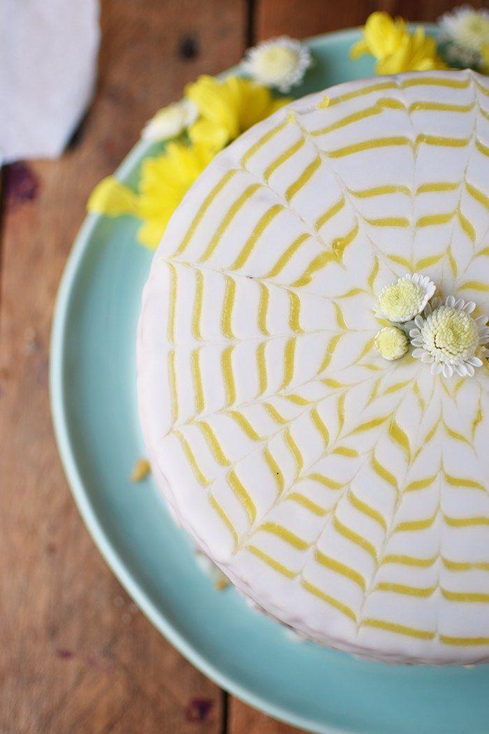 Lemon Curd Kuchen - Easy Lemon Curd Cake | Das Knusperstübchen