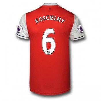 Arsenal 16-17 Laurent Koscielny 6 Hemmatröja Kortärmad  #Billiga  #fotbollströjor