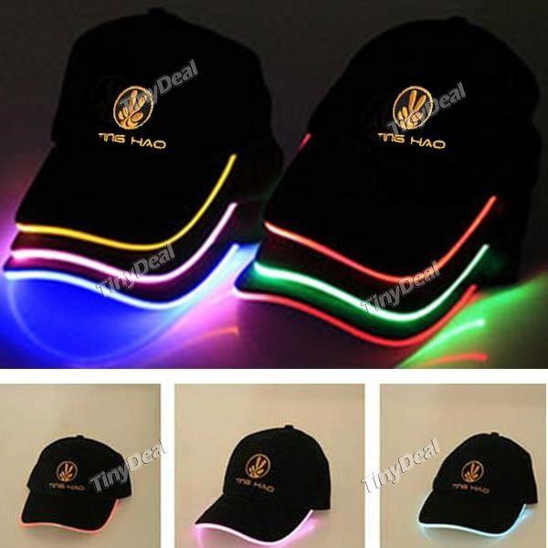 LED Hat Luminous Hat Flash Hat Baseball Cap DHA-428154