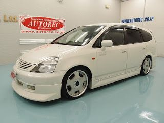 Japanese vehicles to the world: 19522TAN7 2002 Honda Stream for PNG Papua New Guin...