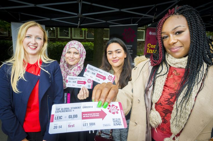 New students also found out about DMU's groundbreaking #DMUglobal scheme.