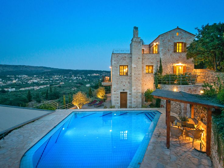 #Bleverde a wonderful olive Grove Estate with two luxury #Holiday #Villas at #Apokoronas Region, #Chania, #Crete. Ready to #Book : http://www.superbgreece.com/hotel/bleverde-villas