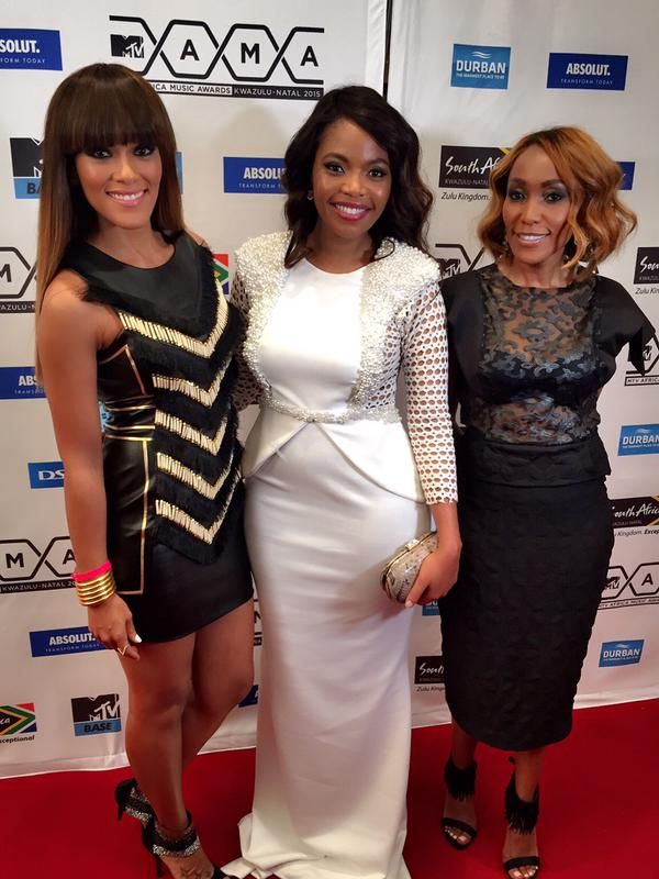 Lee-Anne, Terry Pheto and Mammpho