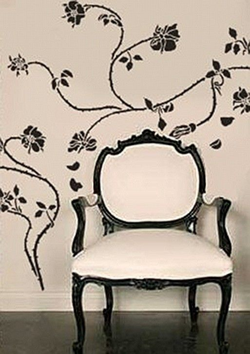 Decorative Wall Stencils best 25+ large wall stencil ideas on pinterest | wall stenciling