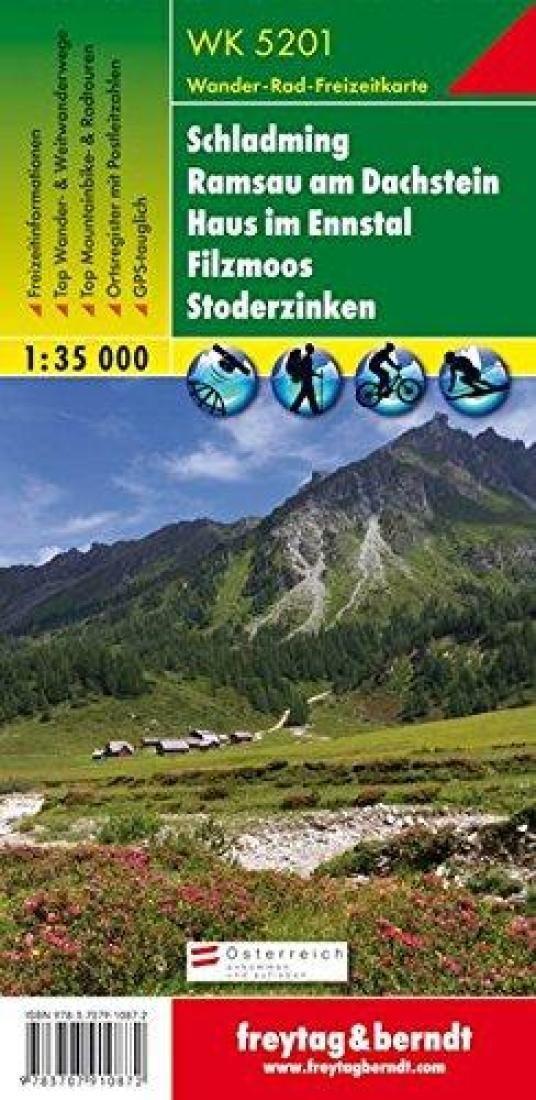 Schladming, Ramsau am Dachstein, Haus im Ennstal, WK 5201 by Freytag-Berndt und Artaria