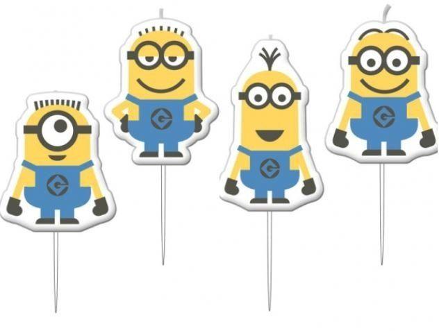Minions Mini Prik Kaarsjes - LEDsImprove - DecoImprove - LETsImprove