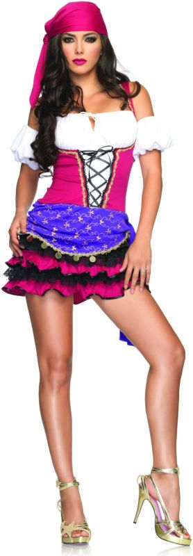 Crystal Ball Gypsy Adult Costume,$49.99