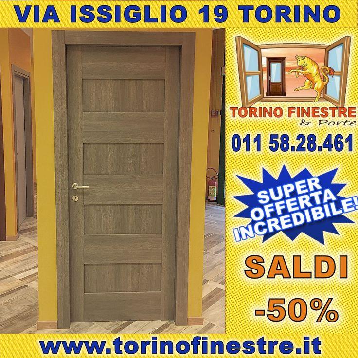 REALIZZA I TUOI SOGNI!!! #Prezzi_fabbrica su #porta_interna intelaiata rivestita in laminato con bugna. Disponibile in 7 colorazioni per far risaltare al meglio l'ambiente di casa tua!!! #Via_Issiglio #Torino #esposizione con #offerte imperdibili!!!