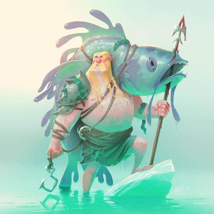 Winner of the #CDChallenge Theme: #Vikings Art... - Character Design References - characterdesigh