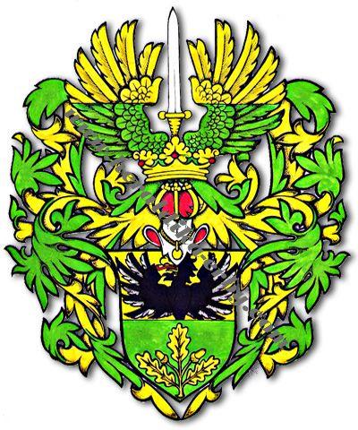 Erby-světová-válka-Waněk - Heraldika a genealogie, erby, znaky, vlajky, rody