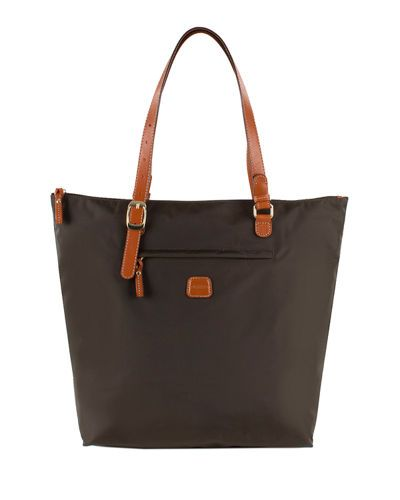 BRIC'S SPORTINA EXTRA-LARGE TOTE BAG. #brics #bags #polyester #tote #leather #lining #pvc #hand bags #nylon #