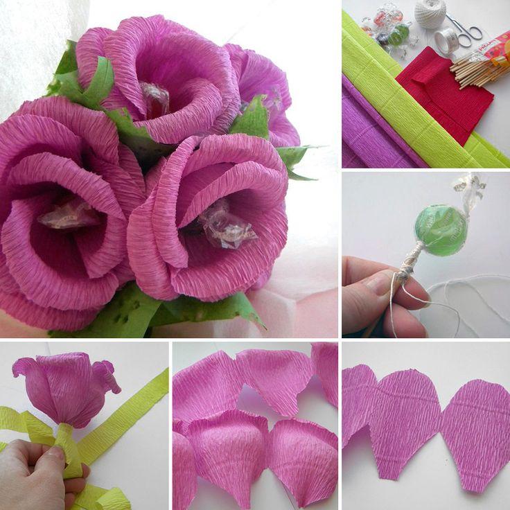 Candy Bouquet you can make in 30 minutes | Каждому в подарок: букет из конфет за 30 мин