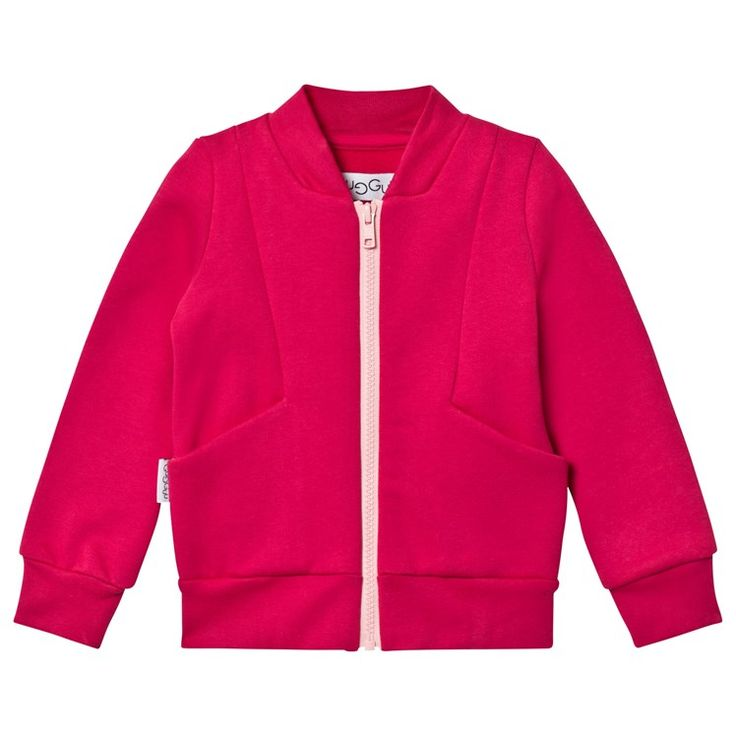 Gugguu Stone jacket bright rose / soft pink