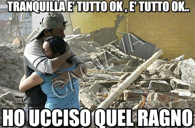Ragno : Tranquilla E' Tutto Ok , E' Tutto Ok.., Ho Ucciso Quel Ragno - by DonneArrivatoLarrotino