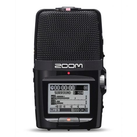 Representing a new generation of portable recording, H2n Handy Recorder is Zoom's most innovative handheld recorder to date. We've packed groundbreaking features into an ultra-portable device that allows you to record pristine audio anywhere you go.