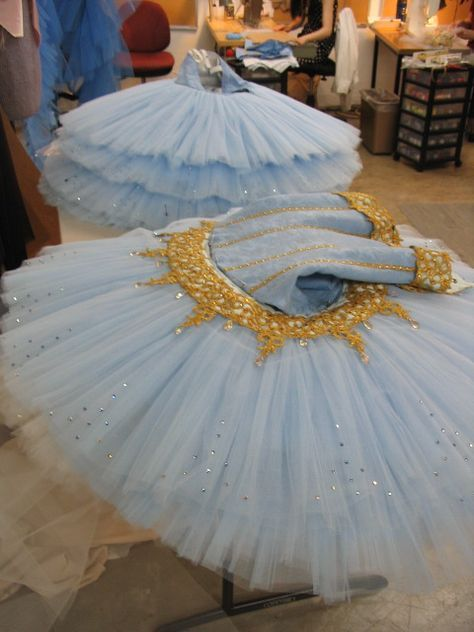 Wow, that's a LOT of gathering! Step-by-step how they make tutus for the Oregon Ballet Theatre
