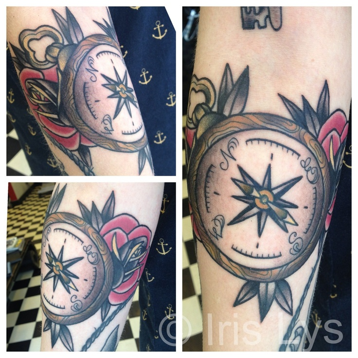 Compass tattoo <3