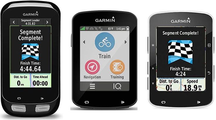 Here's a comparison of the Garmin Edge 1000 vs 820 vs 520 bike computers, including two comparison charts and an infographic.