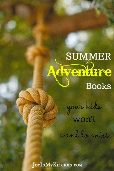 Looking for stories to read aloud to your kids this summer? Our favorite summer adventure books are all family-centric and full of wholesome fun.