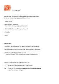 Toxoplasmose  http://www.frauenaerzte-am-potsdamer-platz.de/Infektionsscreening  Während der Schwangerschaft können insbesondere Erkrankungen an Toxoplasmose, Windpocken, Ringel-Röteln oder Masern für das Ungeborene gefährlich werden, wenn die Erkrankung nicht erkannt wird oder unbeachtet bleibt.