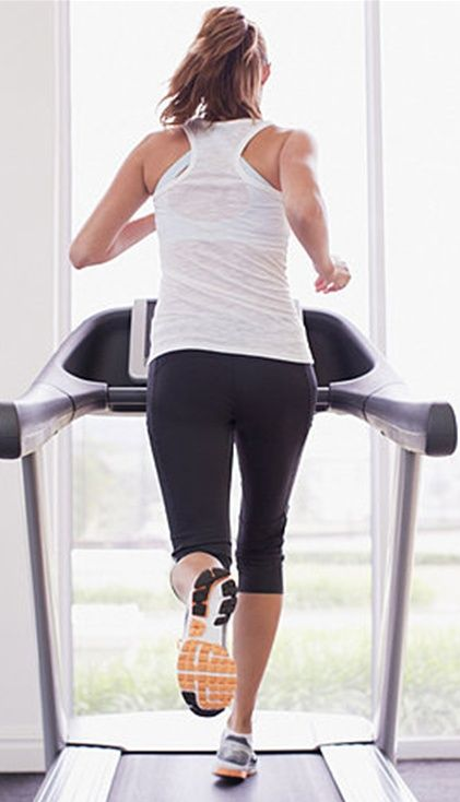 Get in & out with this 20 minute treadmill plan. This is good for days you don't have a lot of time to workout.