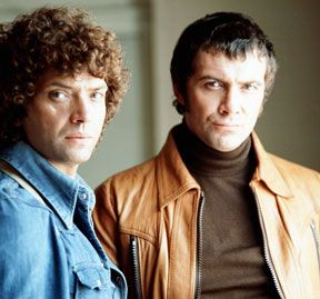 The Professionals.... Body (Lewis Collins) and Doyle (Martin Shaw)