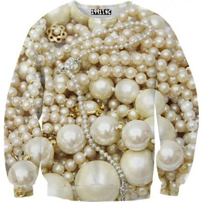 ☮♡ Pearls Sweater ✞☆