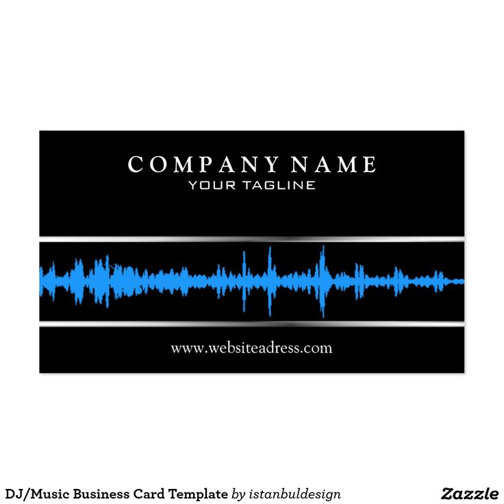 48 best music business cards images on pinterest carte de visite djmusic business card template reheart Images