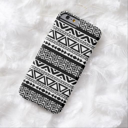 Love this iPhone 6 Case! Black White Aztec Tribal Pattern 4 iPhone 6 case. See more unique Pattern iPhone 6/ 6S Plus Case, follow @cutephonecases